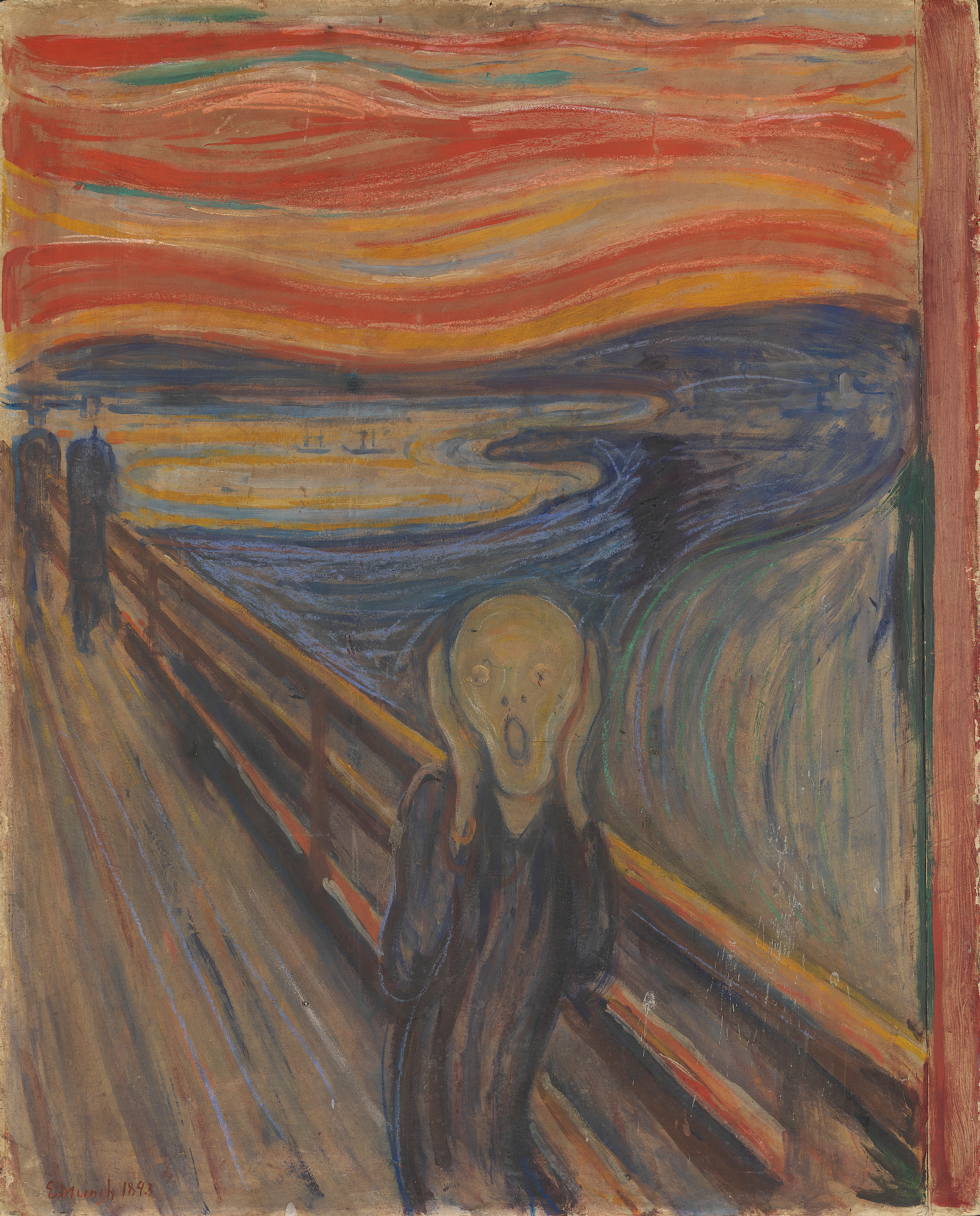 Edvard Munch The Scream, 1893